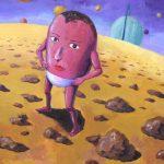 石ころ星人:石ころだらけの星で暮らしています。