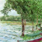 塘路湖:釧路湿原にある湖で、「とうろこ」と読みます。良い場所だったのですが、虫が多くて辟易しました。