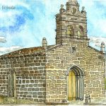 サリア:スペインの巡礼路で。ゴールのサンティアゴまで、あと100kmです。