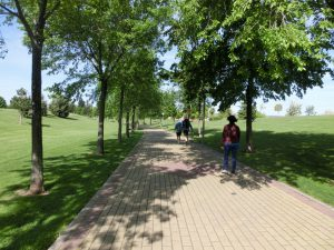 歩きやすい道