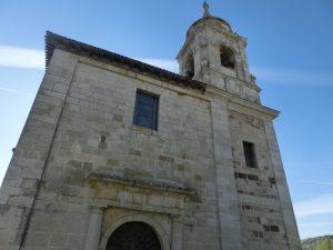 ビジャフランカ・モンテス・デ・オカの教会