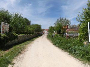 アヘスの町の入り口