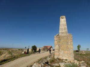頂上の石碑