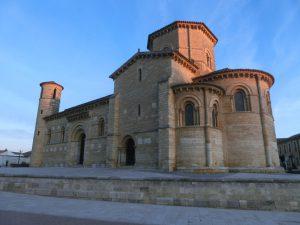 早朝のサン・マルティン教会