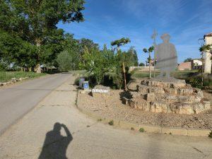 ビジョビエコの町の入り口