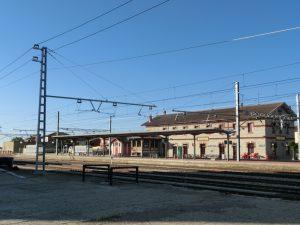 レンフェの駅舎