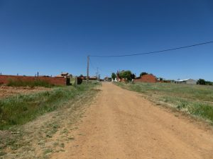 町の入り口