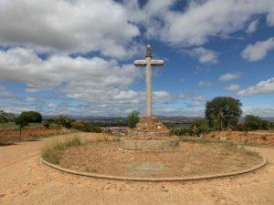 サント・トリビオ山の十字架