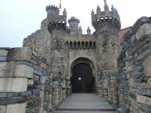 城跡の入り口
