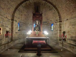 カカベロスの教会の内部