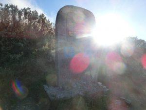 ガリシア州の境界を示す石碑