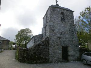 町の中にある古い教会