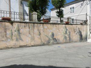 サンタ・マリーニャ教会の壁画