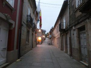 朝のマヨール通り