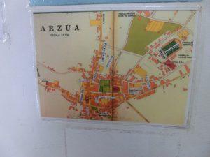 アルスーアの町の地図