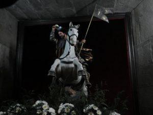 馬に乗った聖ヤコブ像