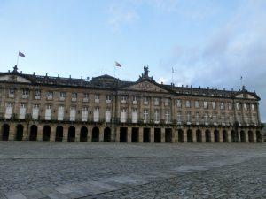 ガリシア自治州政府の建物