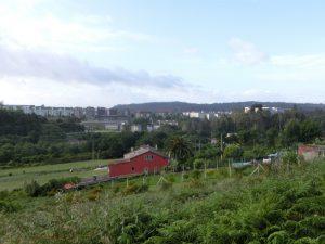 サンティアゴの郊外