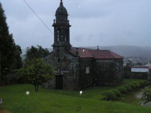 アルベルゲの近くの教会
