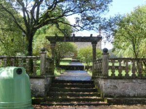 鳥居…じゃなくて教会の門
