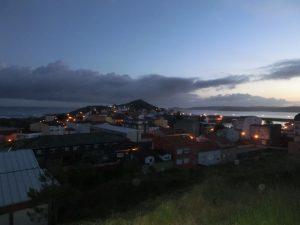 ムシアの町の明かり