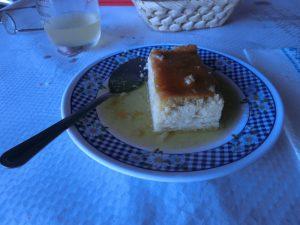 おばちゃん手作りのデザート
