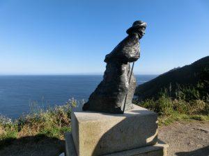 巡礼者の像