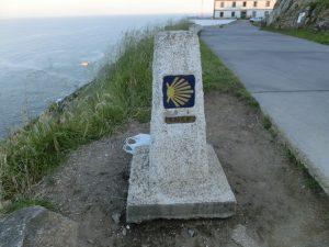 0.00km地点を表す石碑