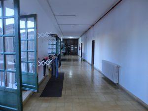 アルベルゲの廊下