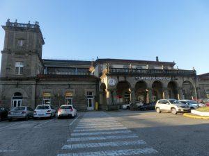 サンティアゴの駅舎