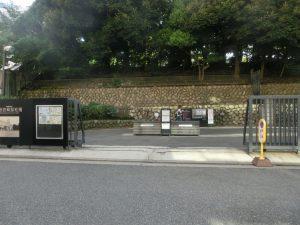 旧岩崎邸の入り口