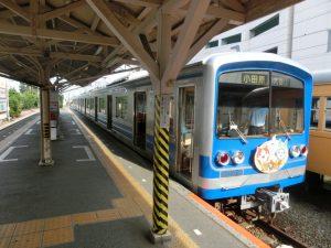 帰りの大雄山線の電車