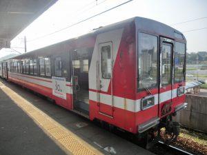 鹿島臨海鉄道の列車