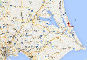 鹿島神宮の地図