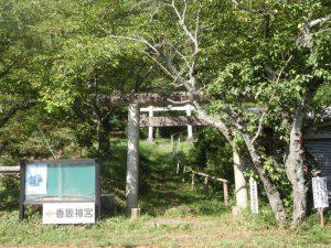 鳥居の入り口