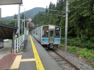 電車が到着
