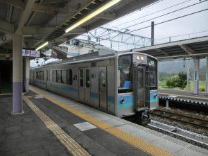 大糸線の電車