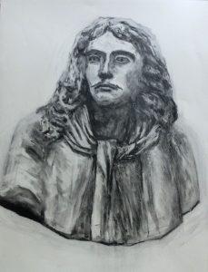 モリエール像