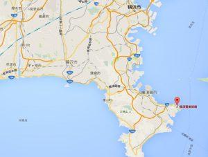 横須賀美術館の場所