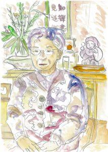 祖母の下絵