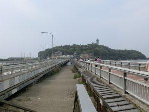 江ノ島へと続く橋