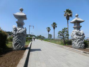 江ノ島の入り口