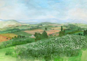 美瑛の「三愛の丘」
