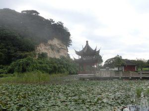 中華風の建物