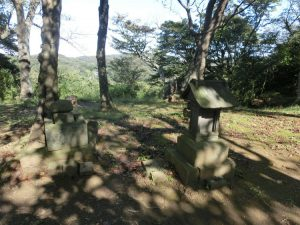 源氏山の頂上