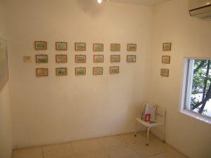 展示の様子(1)