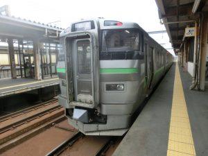 白石行きの電車