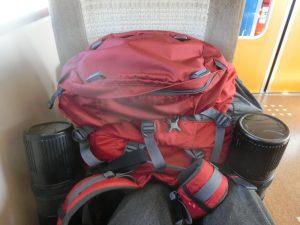 車内の荷物