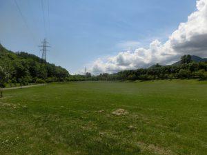 だだっ広い草原が広がっている