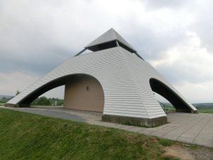 北西の丘の展望台